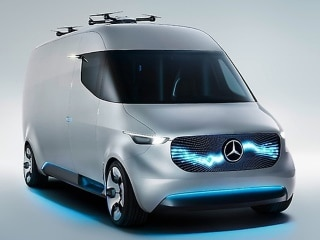 Mercedes Equips Delivery Van With Robotic Carrier Pigeons