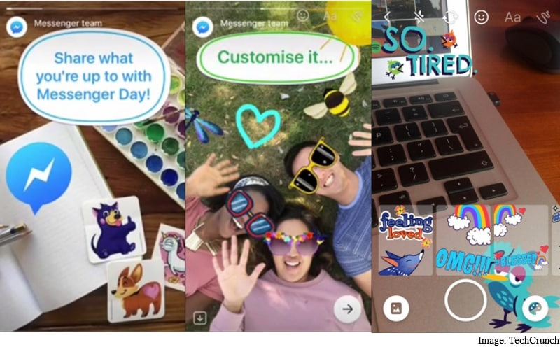 Facebook's Messenger Day Is an Attempt to Take on Snapchat Stories