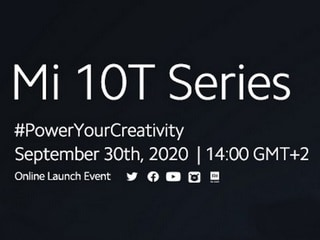 Mi 10T Series Set to Launch on September 30 Through Virtual Event: All You Need to Know
