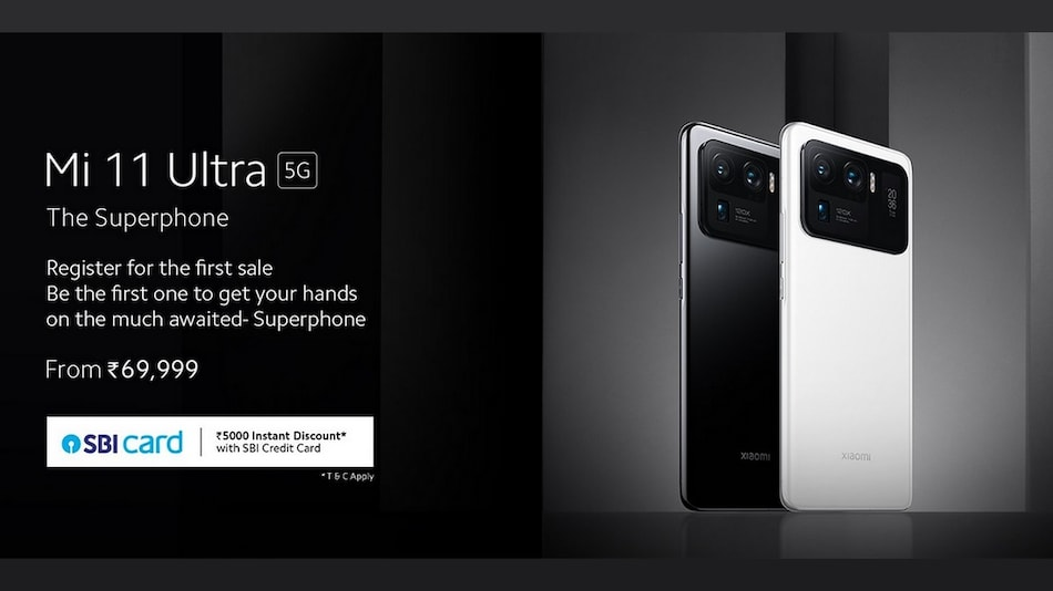 Mi 11 Ultra Limited Quantity Sale Kicks Off From July 7 at 12 Noon