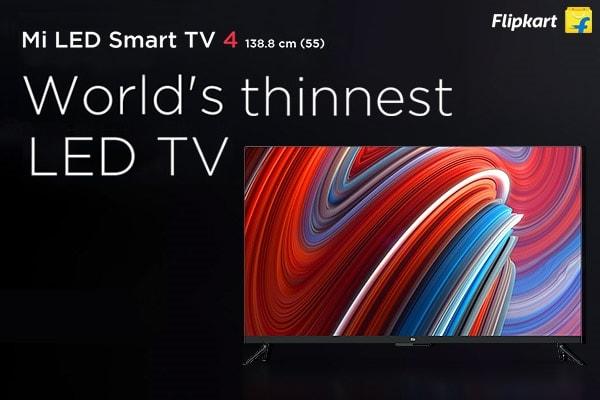 MI Led TV: MI LED Smart TV Sale Is On 7th Aug, at 12 PM Exclusively On Flipkart