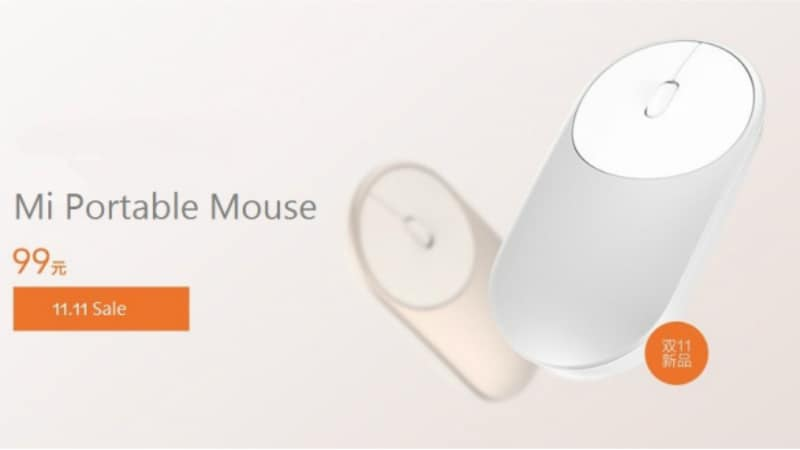 Xiaomi Mi Portable Mouse With Dual-Mode Feature Launched