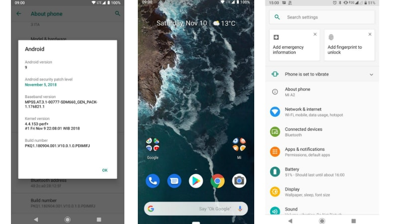 Mi A2 Android P Update Release Spotted in Beta, Download