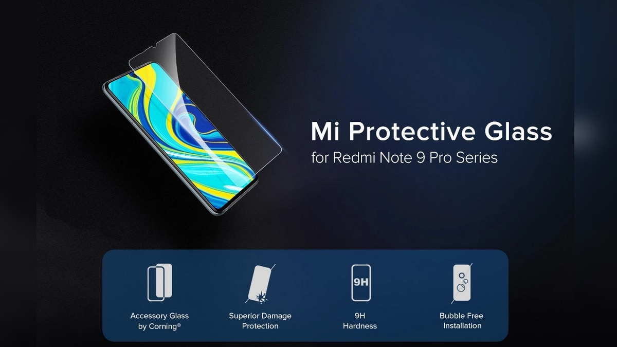Redmi Note 9 Pro, Redmi Note 9 Pro Max Mi Protective Glass Accessory Launched in India