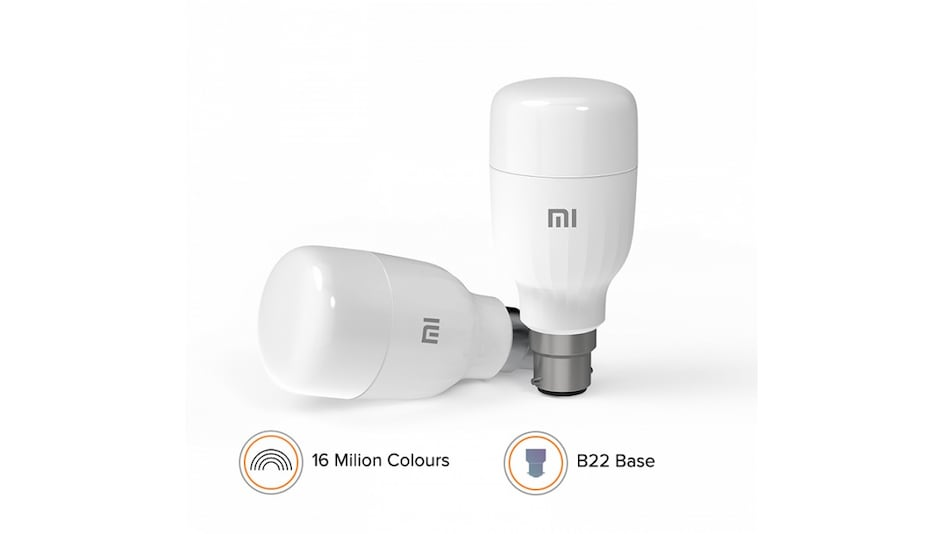Mi Smart LED Bulb (B22) With 9W Rating, 950 Lumens Brightness, Voice Control Launched in India