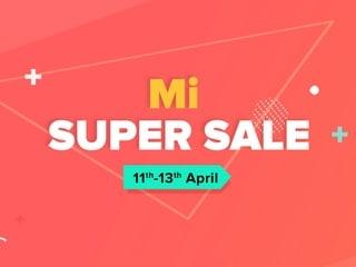 Mi Super Sale: Poco F1 और Redmi Note 6 Pro सहित कई शाओमी स्मार्टफोन पर छूट