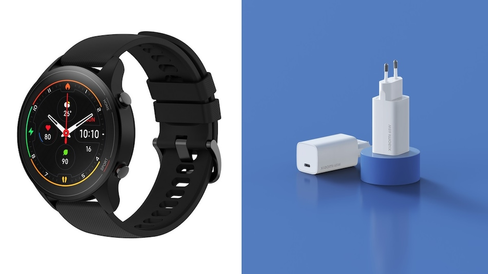 Mi Watch With Up to 16 Days Battery Life, Mi 65W Fast Charger With GaN Tech Launched