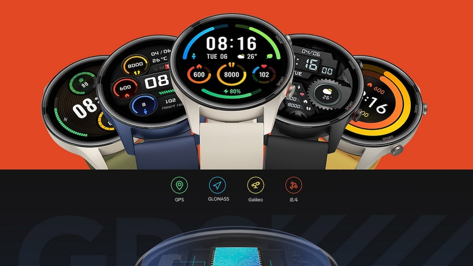 Mi Watch Color Sports Edition With 117 Sports Modes, 5ATM Water Resistance, Built-in GPS Launched