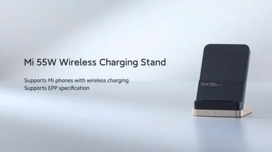 Xiaomi Mi 55W Wireless Charging Stand, Mi Smart Tracking Charging Pad, Mi Car Charger Launched