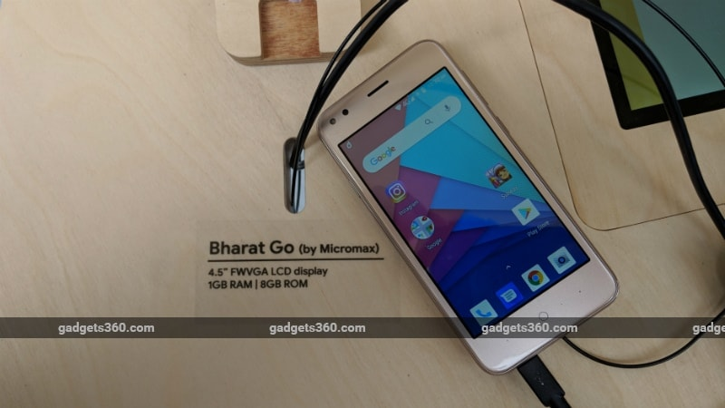 Micromax Bharat Go and Lava Z50 Android Go First Impressions