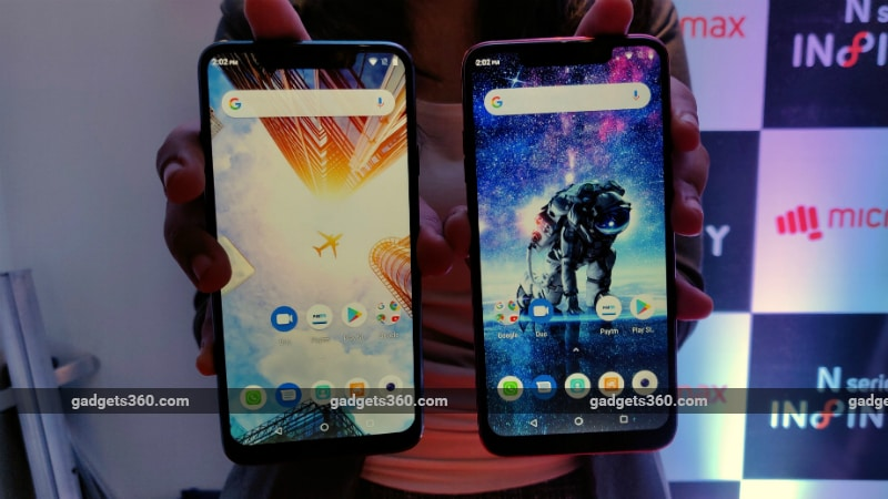 Micromax Infinity N12 and Infinity N11 First Impressions