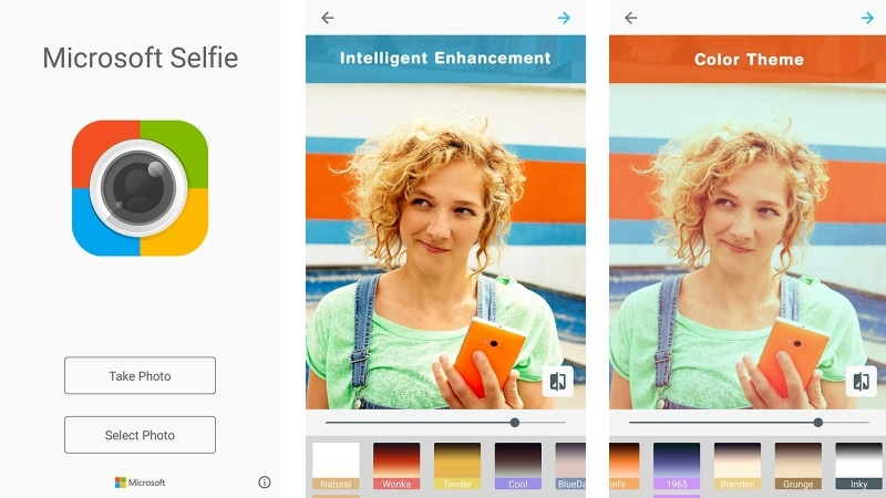 Microsoft Selfie Now Available on Android; Enhances Your Selfies With Machine Vision