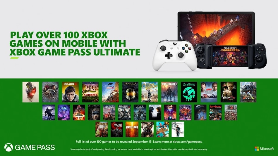 Microsoft xCloud for Android Game Streaming Service Launches September 15 on Xbox Game Pass Ultimate