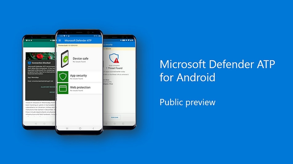 Microsoft Defender ATP Antivirus App for Android Now Available in Public Preview