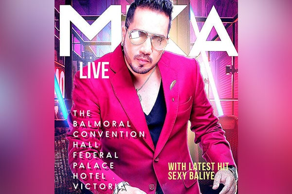 Mika Singh, The Powerhouse Entertainer, Live Concert in Delhi on 9th June
