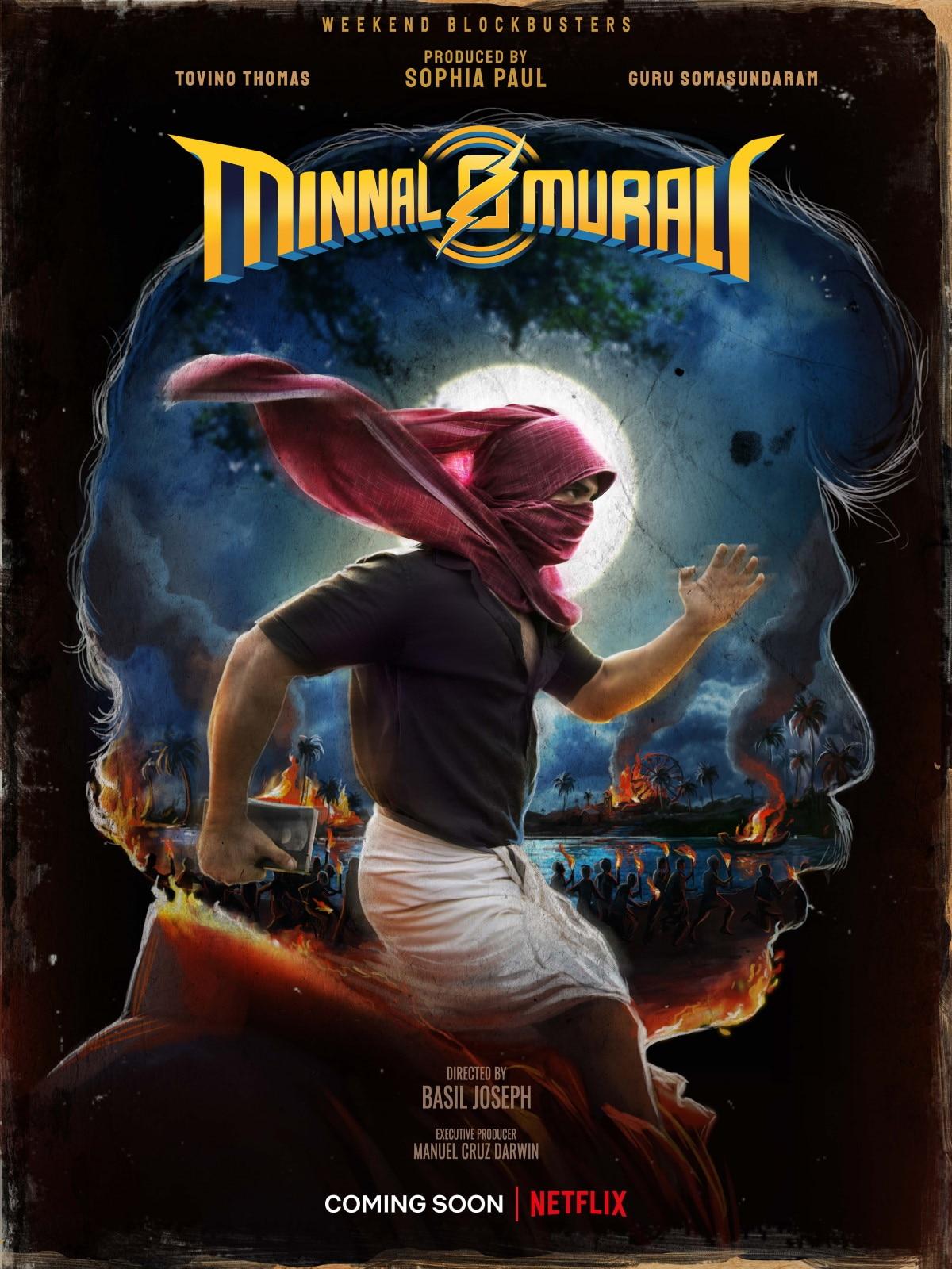 Minnal Murali poster minnal murali netflix