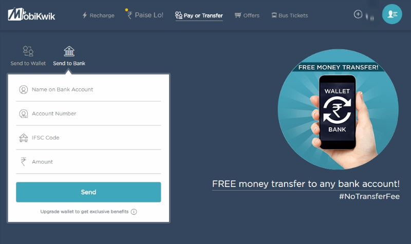 MobiKwik desktop how_to_transfer_money_from_mobikwik_to_bank_account