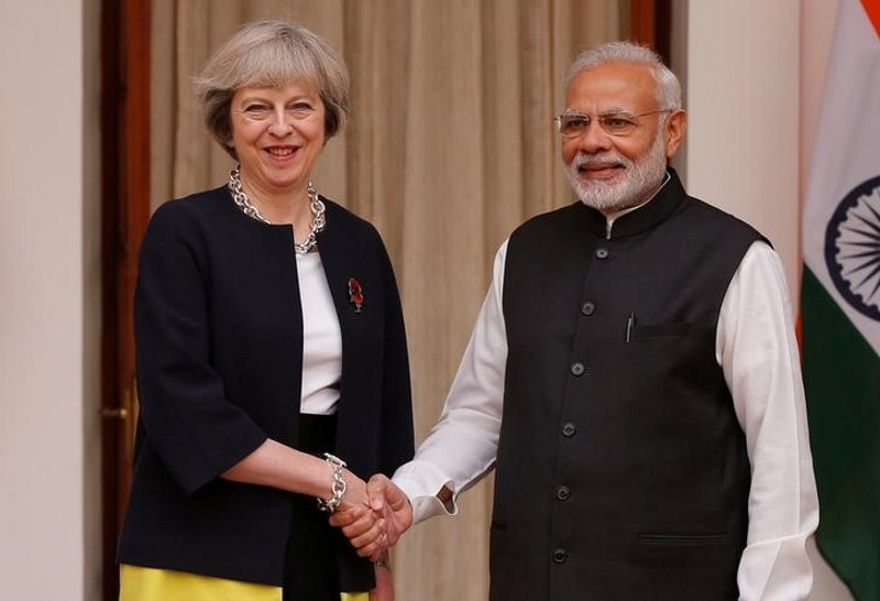 India, UK to Strengthen Cooperation Over Tackling Cyber-Terrorism: May
