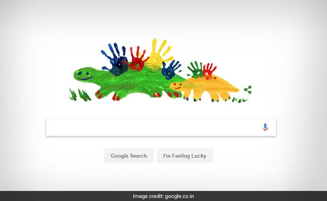Google Doodle Celebrates Mother's Day With A Dinosaur Doodle
