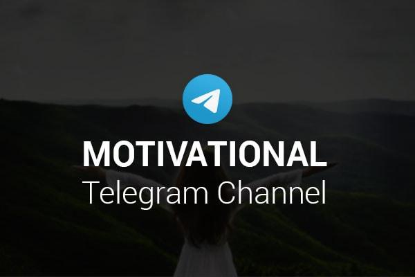 Motivational Telegram Channels 600x400 1575283394039