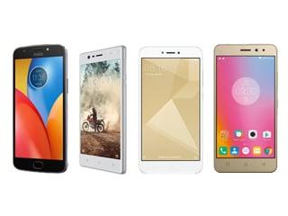 Moto E4 Plus vs Nokia 3 vs Xiaomi Redmi 4 vs Lenovo K6 Power: Price, Specifications, Features Compared