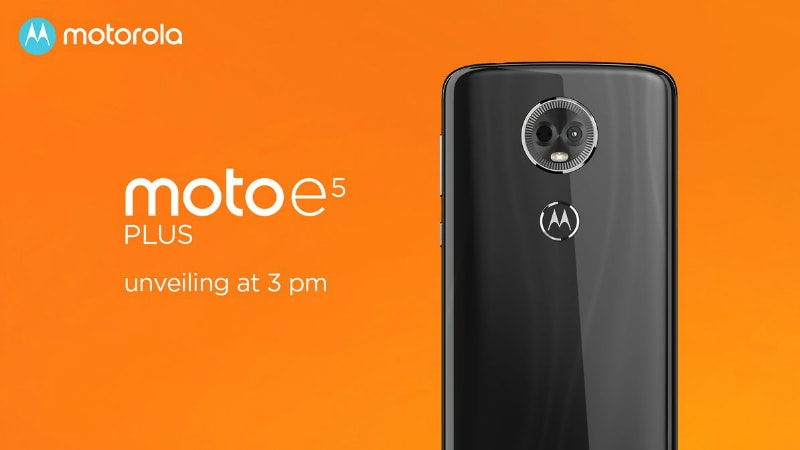 Moto E5, Moto E5 Plus Launched in India, Prices Start at Rs. 9,999: Event Highlights