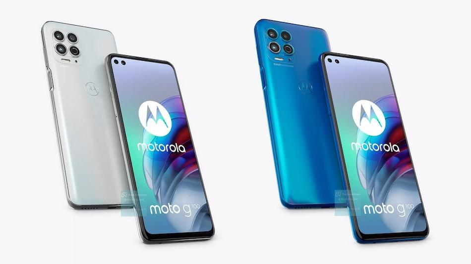 Moto G100 Alleged Renders Show Same Design as Motorola Edge S With Slightly Tweaked Colours