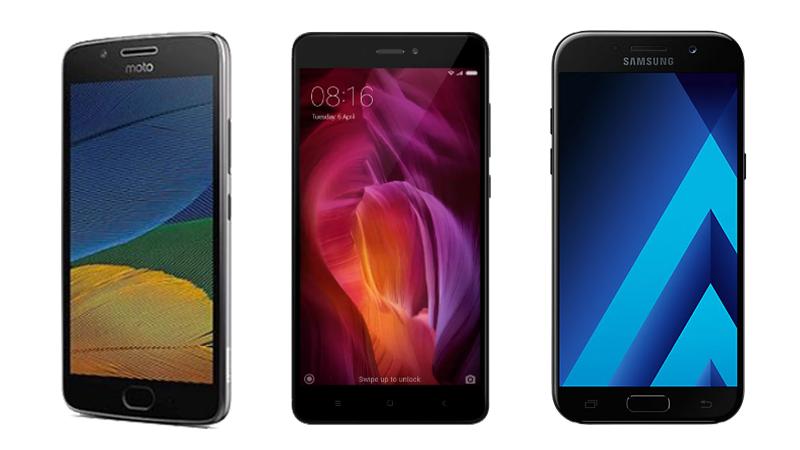 Moto G5 Plus vs Xiaomi Redmi Note 4 vs Samsung Galaxy A5 (2017): Which One Is Right for You?
