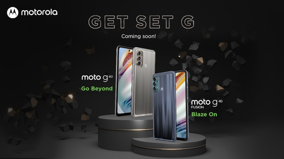 Moto G60, Moto G40 Fusion Confirmed by Motorola India; to Sport Triple Rear Cameras