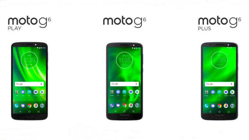 Motorola launches 2018 G6 and E5 smartphones