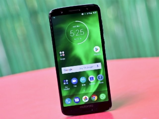 Moto G6, Moto G6 Play, Moto Z3 Play Now Receiving Android Pie Update: Report