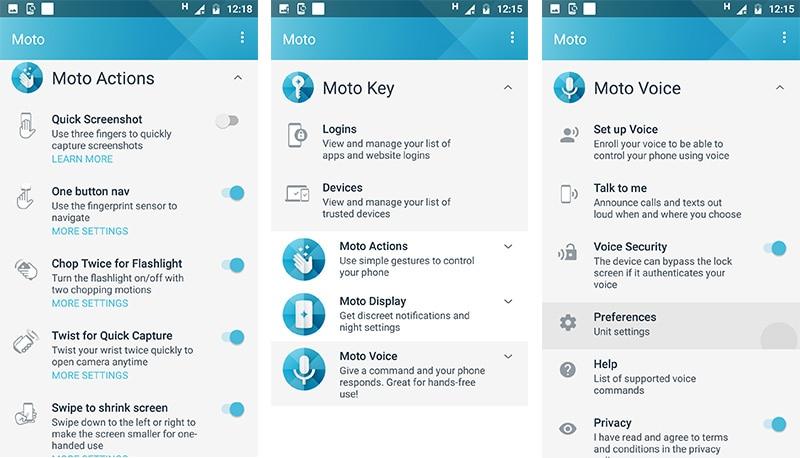 Moto X4 Moto app ndtv moto x4