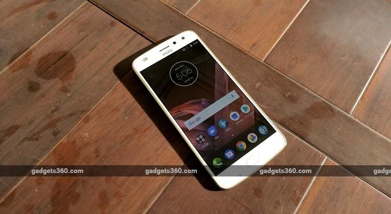 Moto Z2 Play Front NDTV Moto Z2 Play
