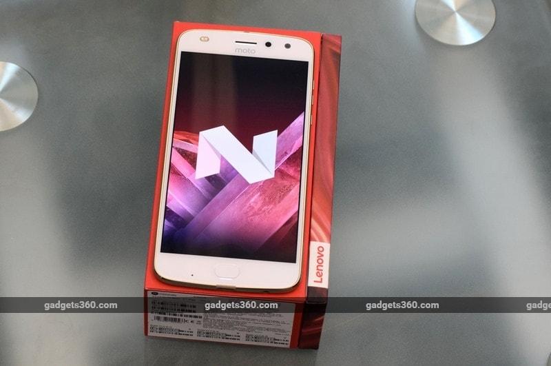 Moto Z2 Play  Nougat NDTV Moto Z2 Play