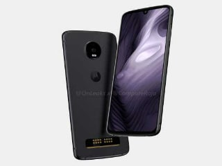 Moto Z4 Play Render Leak Tips Waterdrop Notch, Moto Mods Support