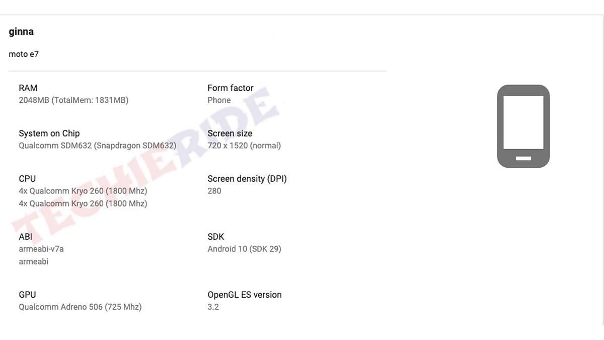 Motorola One Vision Plus और Moto E7 के स्पेसिफिकेशन लीक
