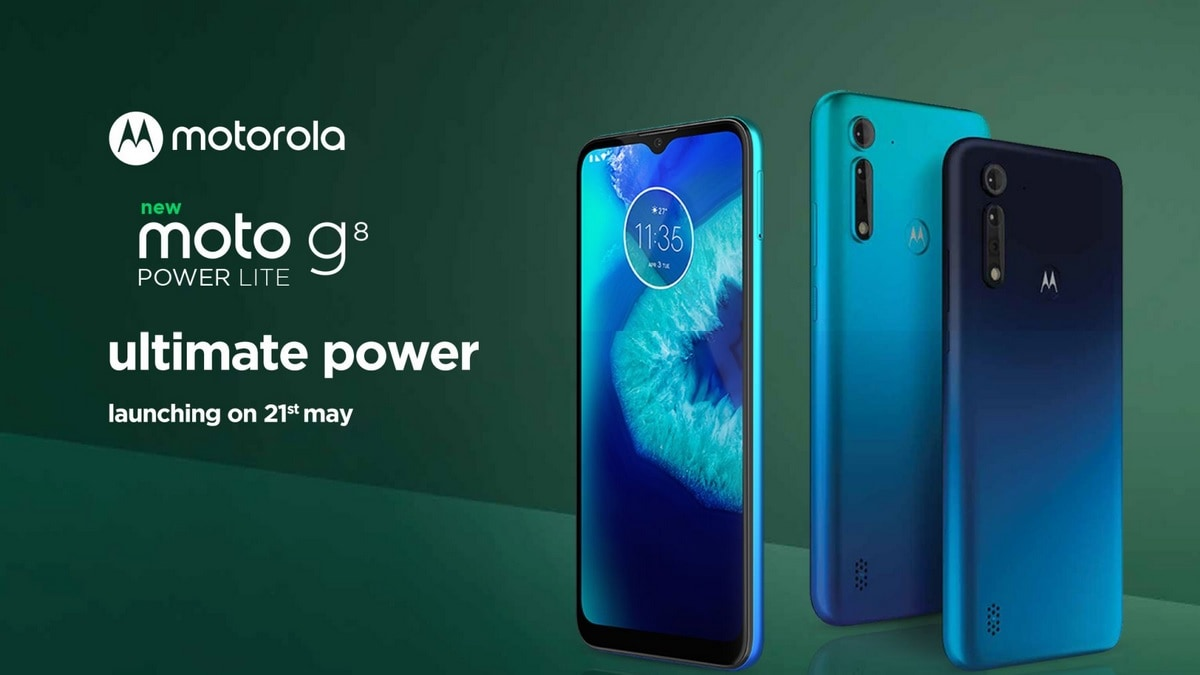 Moto G8 Power Lite to Launch in India on May 21, Flipkart Teaser Page Reveals