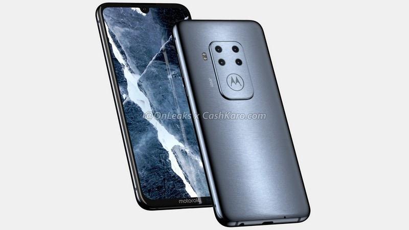 Motorola Smartphone With Quad Rear Cameras, In-Display Fingerprint Sensor Leaked via Alleged Renders