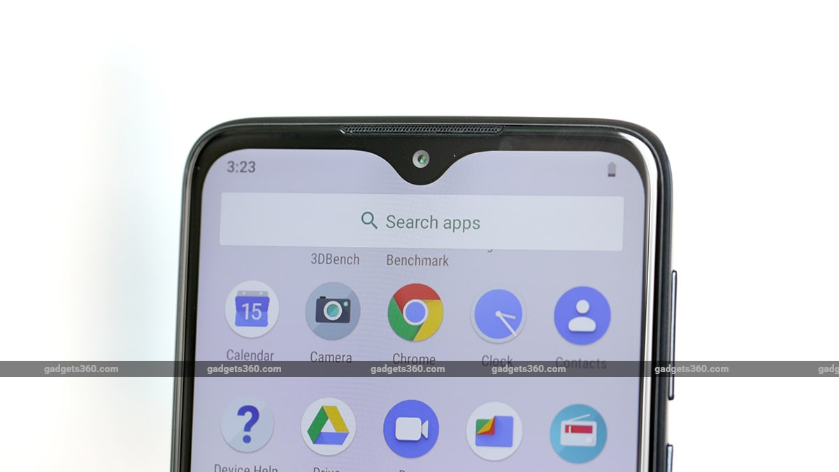 Motorola One Macro Display Notch Motorola One Macro Review