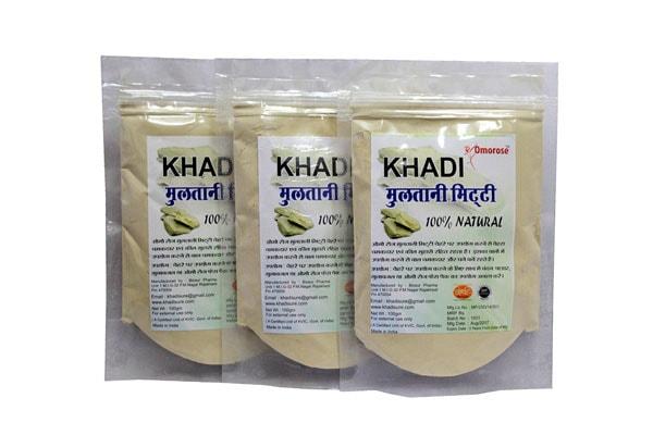 Khadi Omorose Multani Mitti (Pack Of 3)