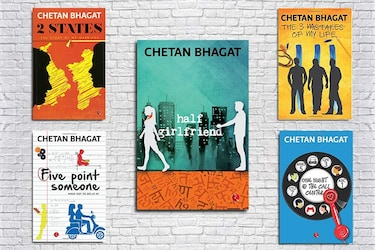 Must Have Books By Chetan Bhagat