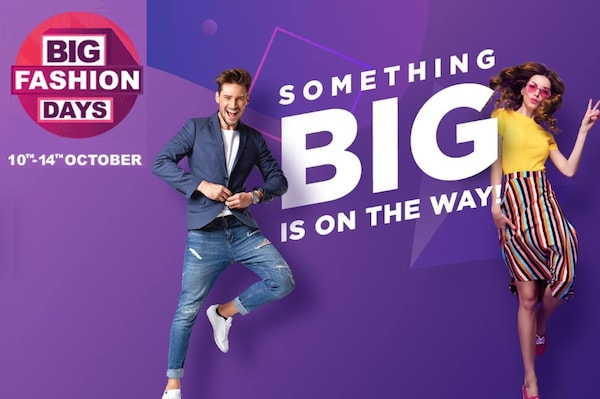 Myntra Offers, Coupons: Big Fashion Days Sale, Upto 80 %OFF