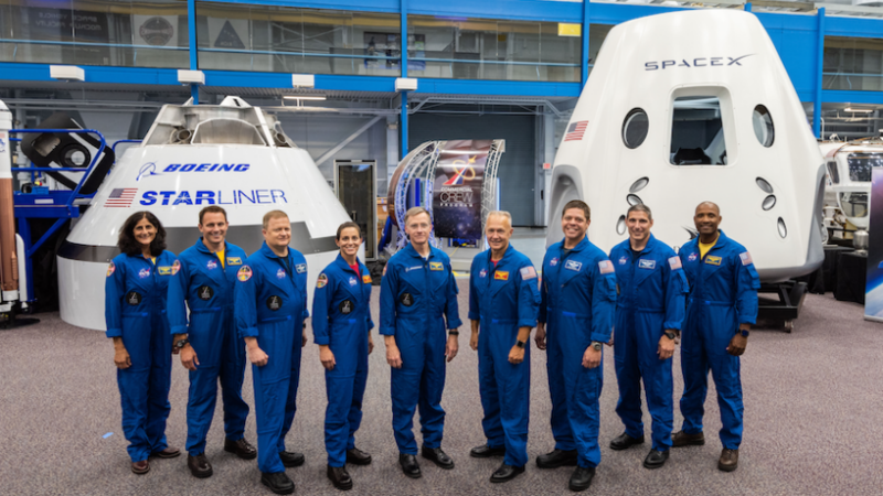 NASA Names Astronauts for First Manned US Mission Since 2011