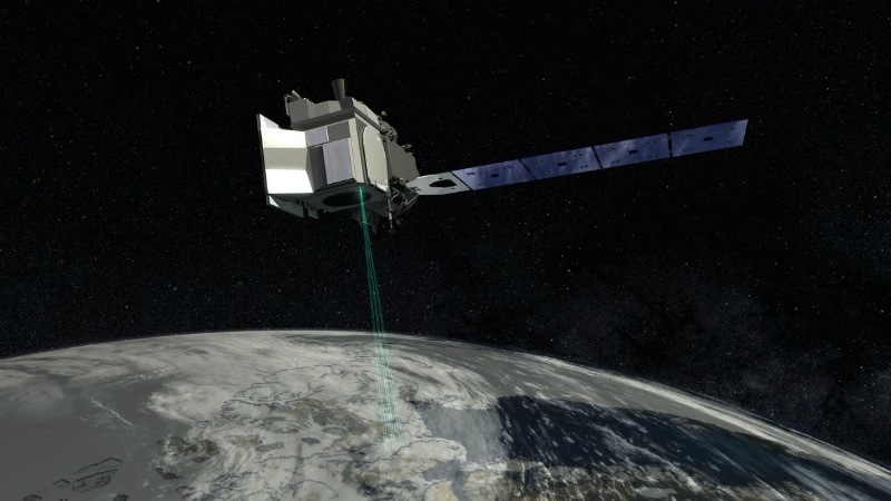 NASA space laser targets melting poles