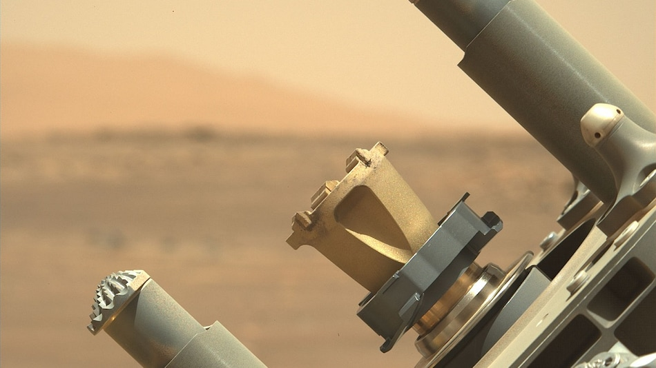 NASA's Perseverance Mars Rover Uses Special Way to Abrade Rocks and Study Them