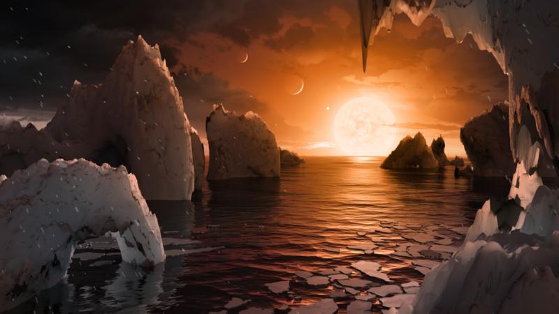 NASA TRAPPIST 1 Exoplanet Discovery NASA TRAPPIST-1 Exoplanet Discovery