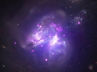 NASA Shares Spectacular Image of Galaxies Merging 140 Million Light-Years From Earth