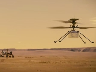 NASA Mars Helicopter Ingenuity Ready for First Flight