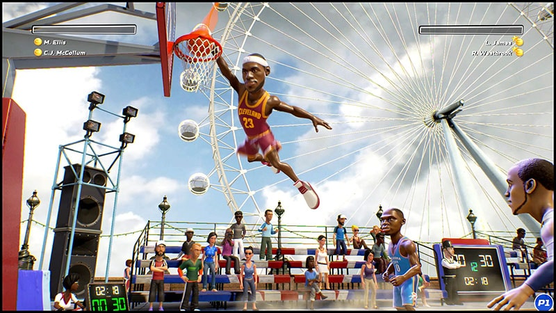 NBA Playgrounds review james NBA Playgrounds review