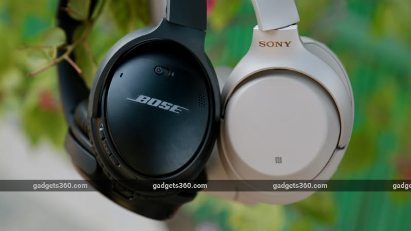 0128d9459ed Sony WH-1000XM3 vs Bose QC35 II | NDTV Gadgets360.com